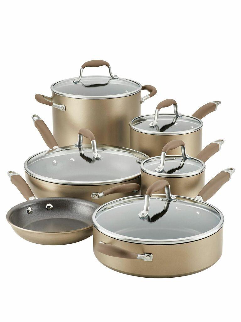 bronze cookware set