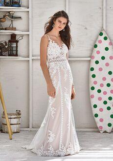 Lillian West 66052 Sheath Wedding Dress