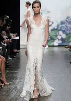 Monique Lhuillier Mila Sheath Wedding Dress