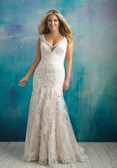 Allure Bridals W411 A-Line Wedding Dress