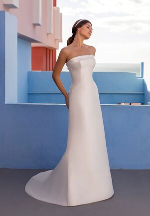 WHITE ONE FLORUS Mermaid Wedding Dress