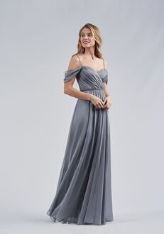 Belsoie Bridesmaids by Jasmine L214054 V-Neck Bridesmaid Dress