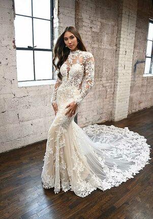 Martina Liana 1334 Mermaid Wedding Dress