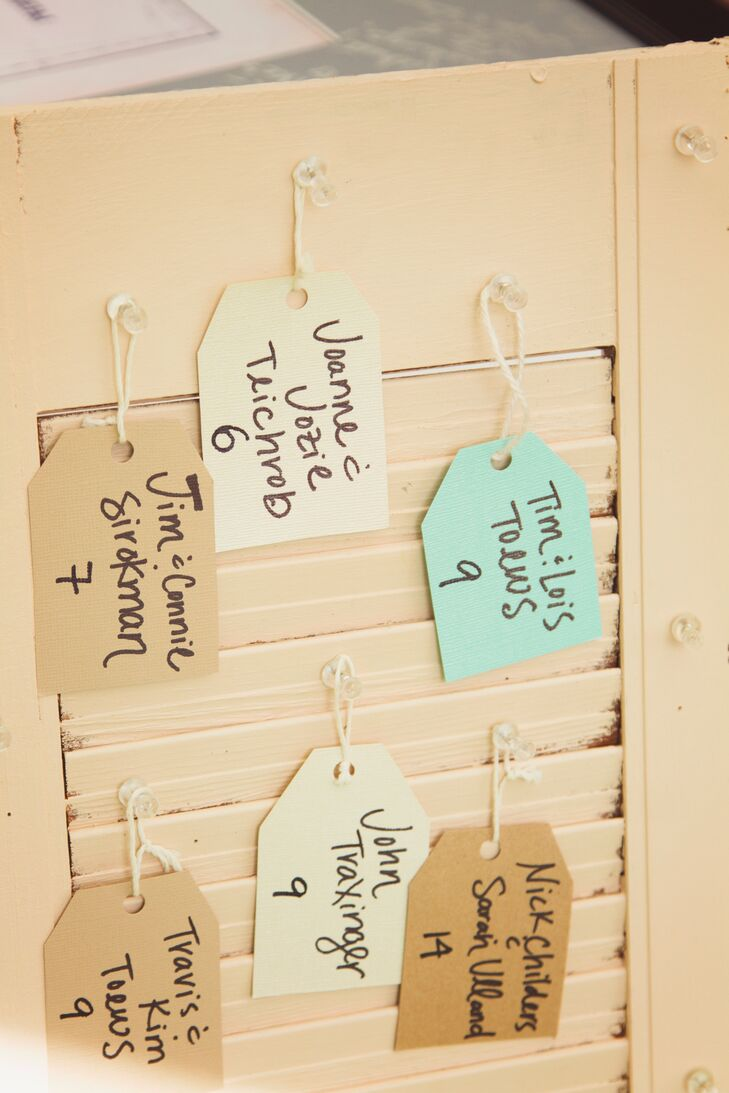 DIY Simple Escort Cards