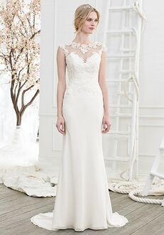 Beloved by Casablanca Bridal BL206 Joy Sheath Wedding Dress