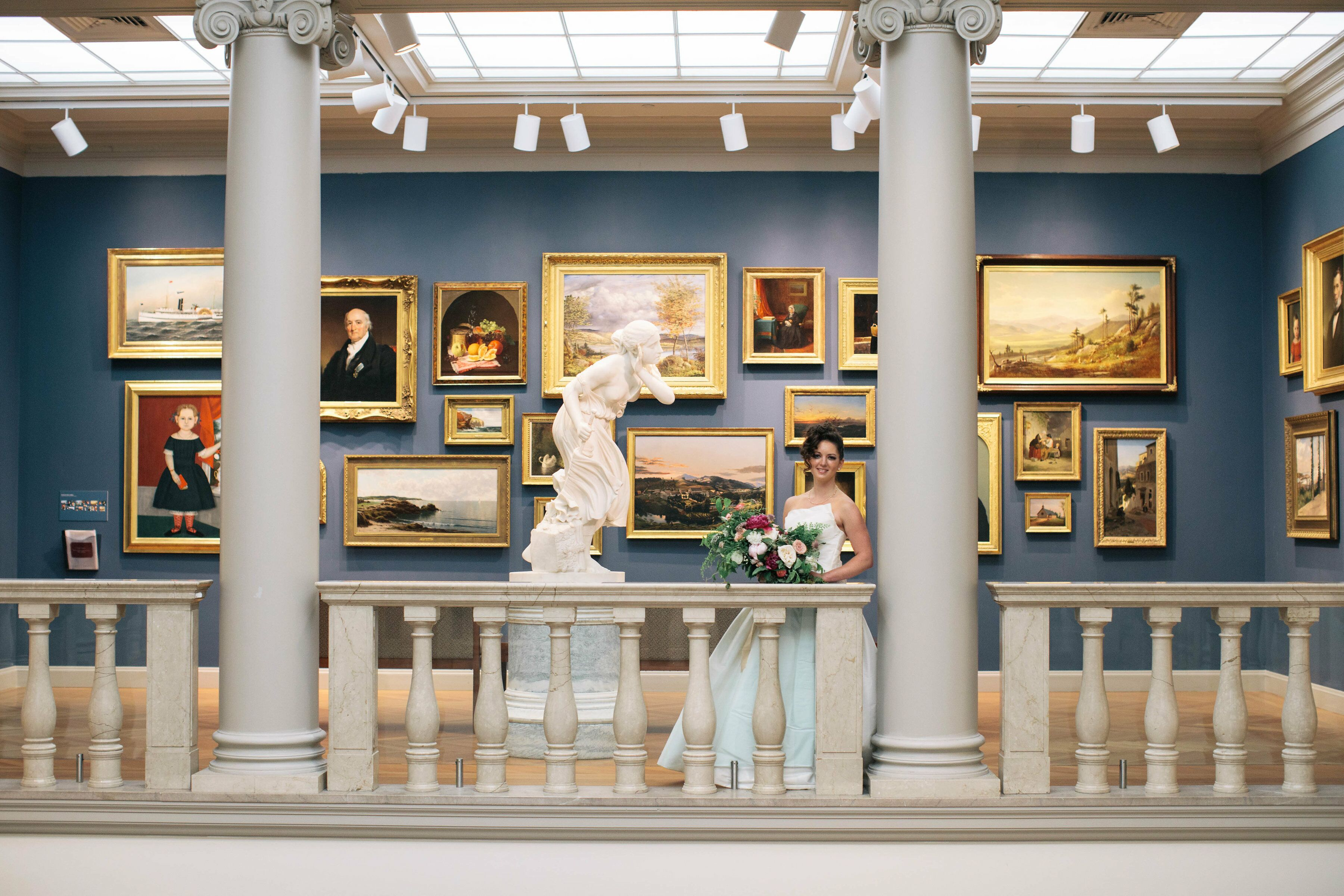 Currier Museum of Art Wedding Reception Venues