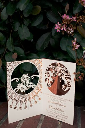 Custom Laser-Cut Wedding Invitations