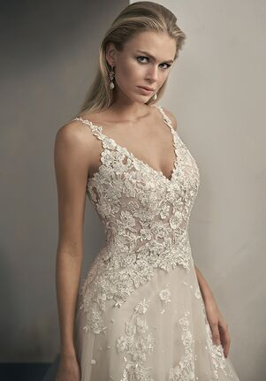Jasmine Couture T192062 A-Line Wedding Dress