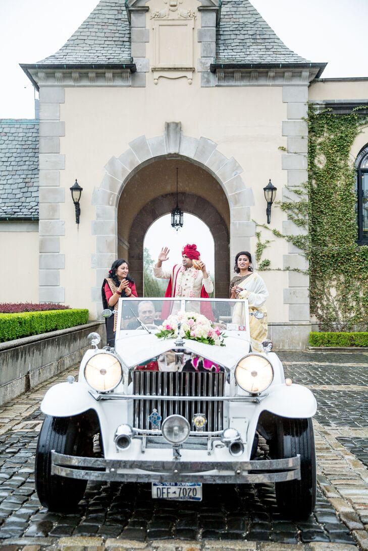Rolls-Royce Transportation at Indian Baraat