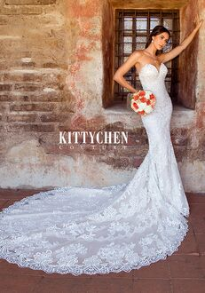 KITTYCHEN Couture NALA, K1968 Sheath Wedding Dress