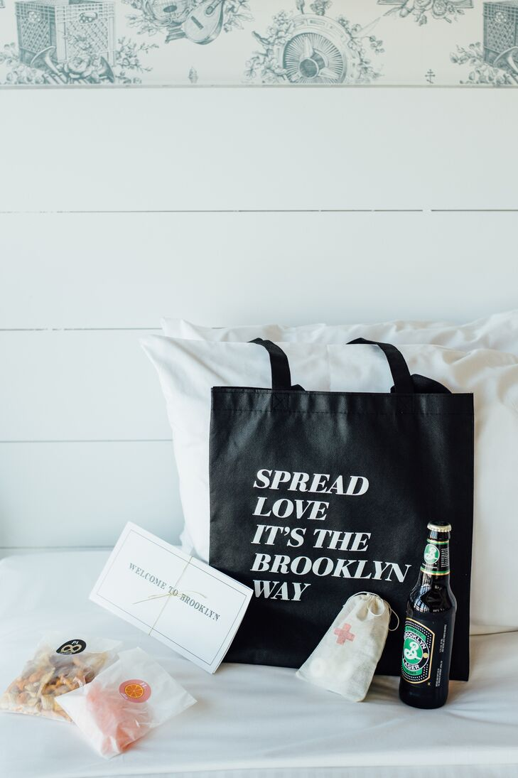 Brooklyn-Inspired Welcome Bags