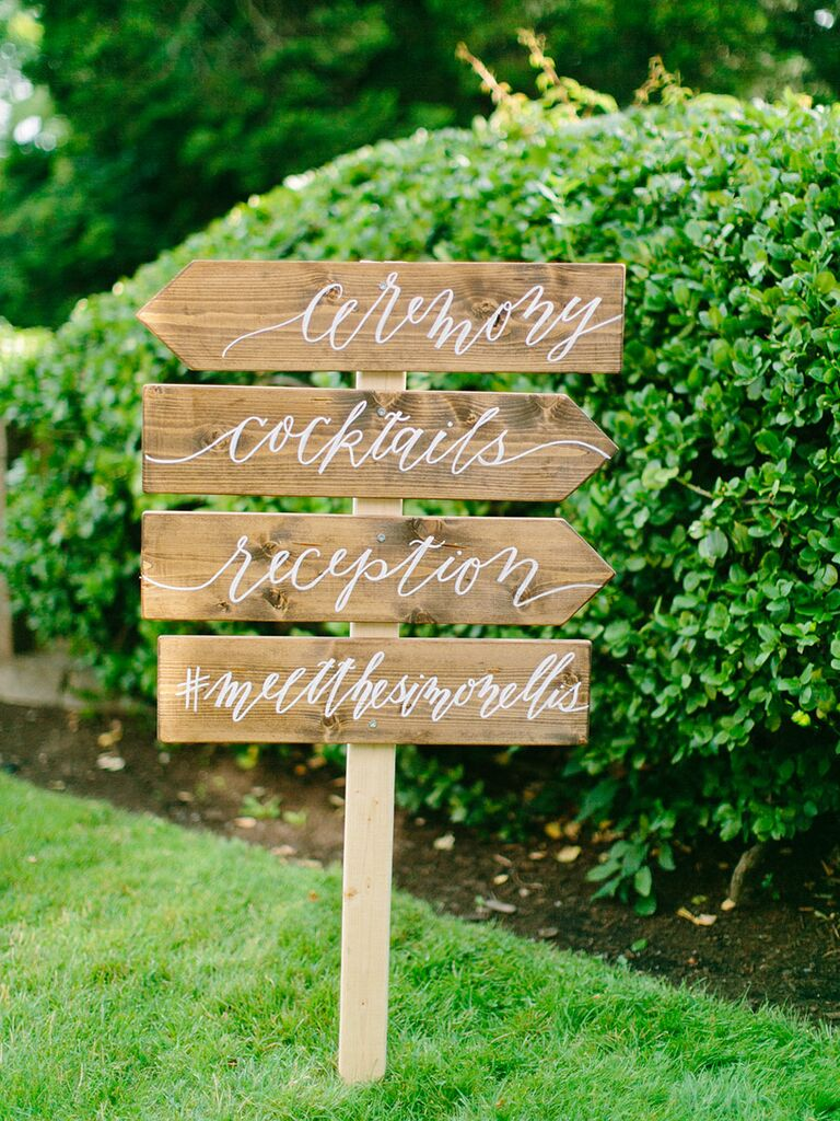 Decoration signs  must have photo to take at your wedding