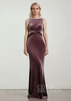 CocoMelody Bridesmaid Dresses RB0318 Bateau Bridesmaid Dress