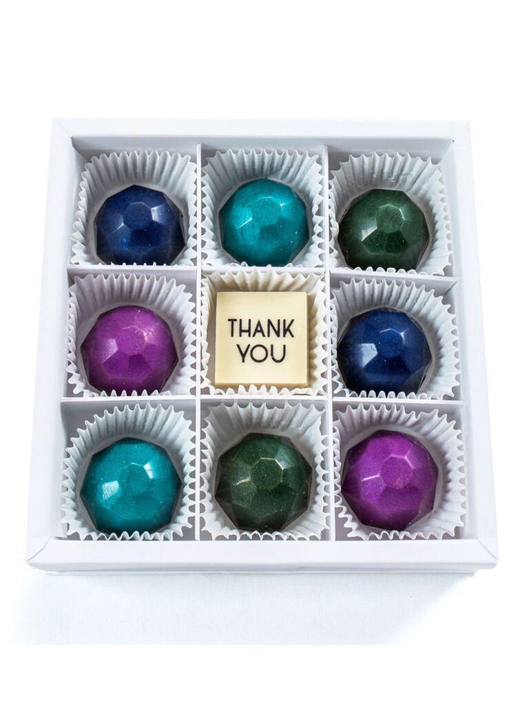Gem chocolates 15-year anniversary gift for her