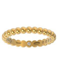 Everband 3 mm Cirq Gold, Rose Gold, White Gold, Platinum Wedding Ring