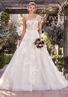 IVOIRE by KITTY CHEN REAGAN, V1911 Ball Gown Wedding Dress