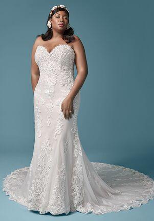 Maggie Sottero CLARETTE ANNE Sheath Wedding Dress