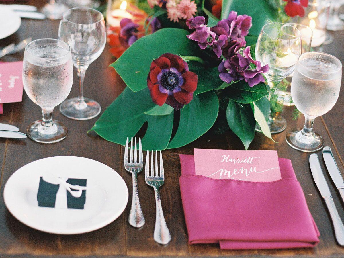 Hawaiian reception dinner
