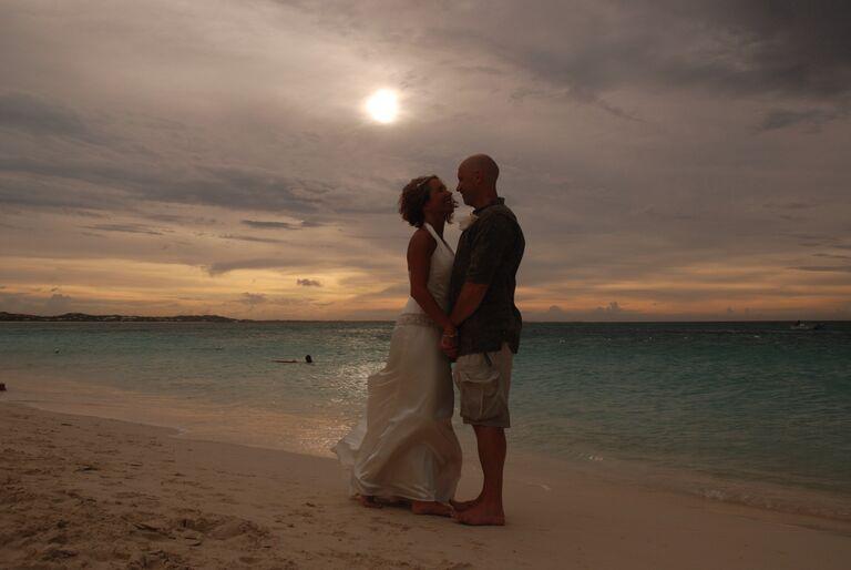couple wedding 2001