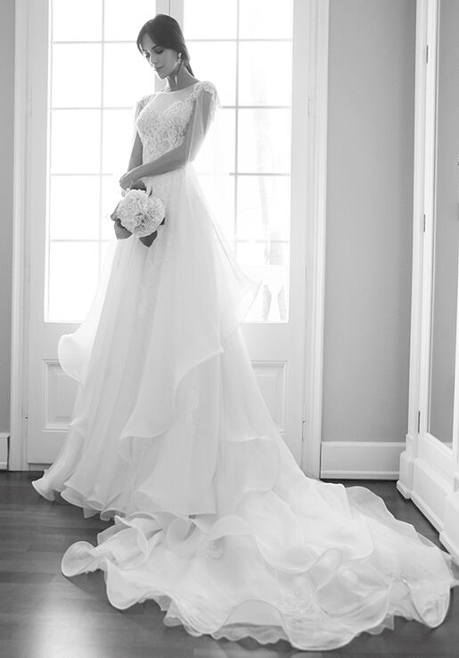 96f1a9924841 Alessandra Rinaudo Collection LIBERTY AR 2018 A-Line Wedding Dress