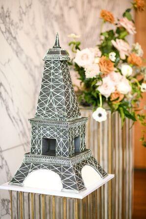 Eiffel Tower Wedding Cake at the Conrad Hotel in Washington, D.C.