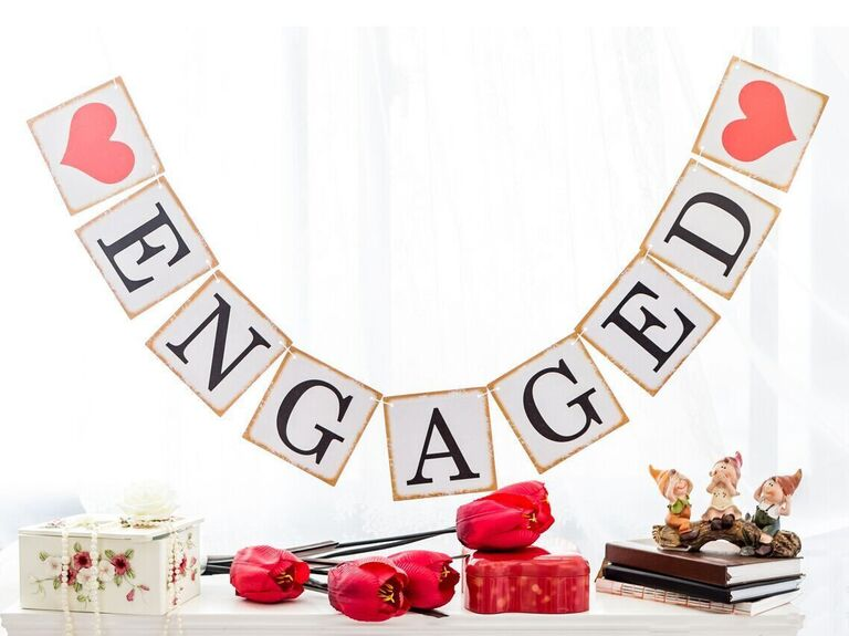 wedding engagement banners