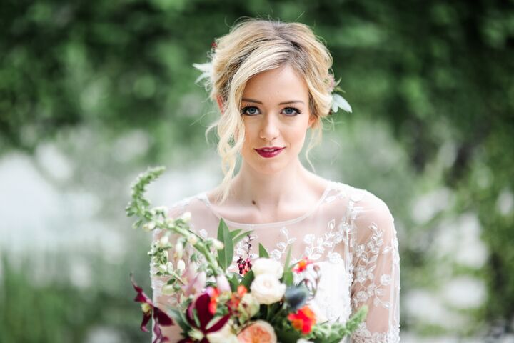 Hint of Shimmer: On-location Wedding Makeup - Austin, TX