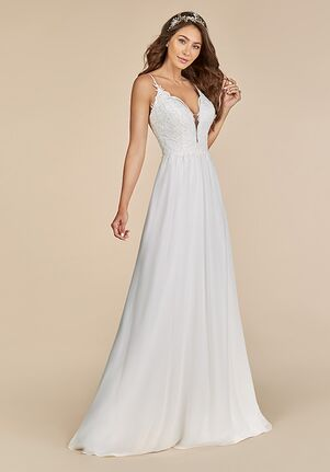 Moonlight Tango T885 A-Line Wedding Dress