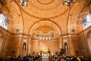 Basilica Shrine of St. Mary Wedding Ceremony