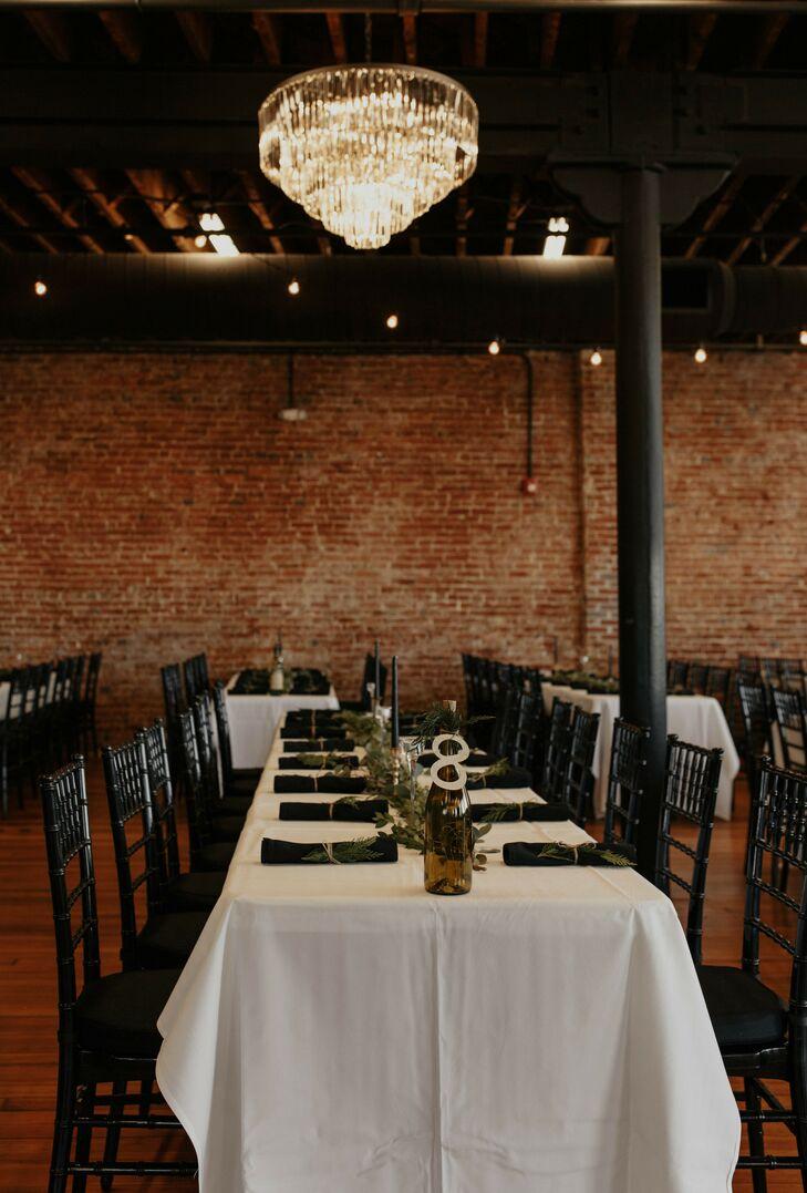 Reception at Magnolia Venue and Urban Garden in Kansas City, Missouri