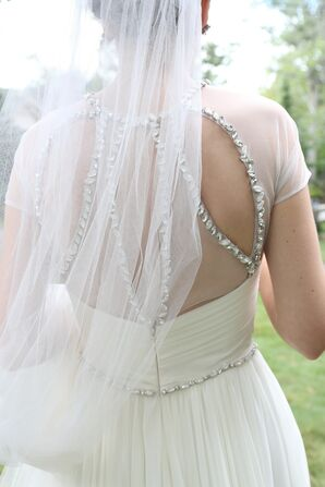 Crystal and Cutout Back Gown