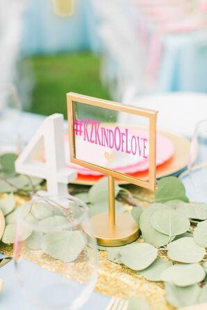 Wedding Hashtag Sign Idea