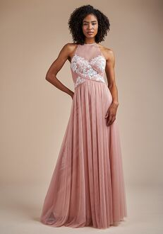Belsoie Bridesmaids by Jasmine L224057 Halter Bridesmaid Dress