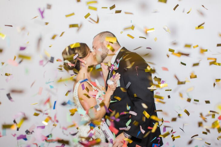 Glam Colorful Celebratory Confetti