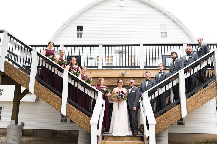The nearly 70-year-old barn  at Historic John P. Furber Farm in Cottage Grove, Minnesota, was remodeled for weddings to accommodate up to 500 guests.