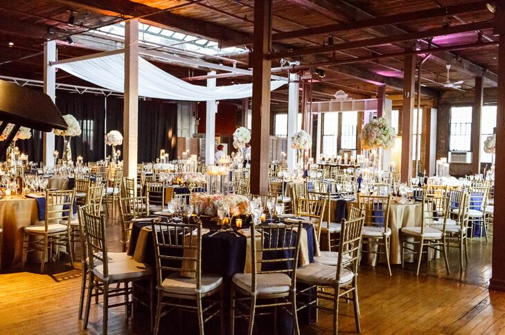 Glamorous Reception Space at the Metropolitan Building in Long Island City, Queens, New York