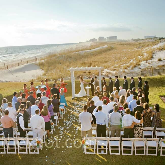 Beach Ceremony Setting