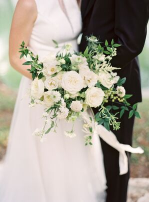 Classic White Blooms and Greenery