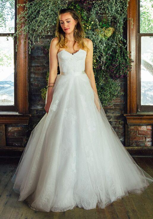Lea-Ann Belter Delilah Bustier/Rose Skirt Wedding Dress - The Knot