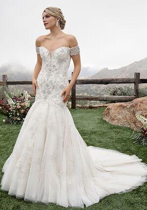 Casablanca Bridal 2423 Gabrielle Mermaid Wedding Dress