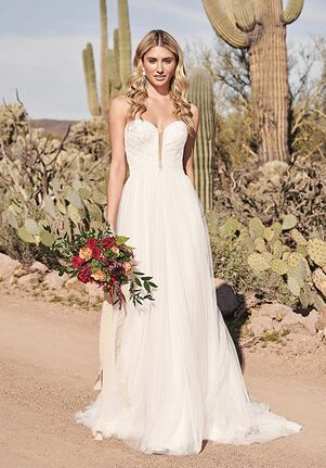 Lillian West 66168 A-Line Wedding Dress