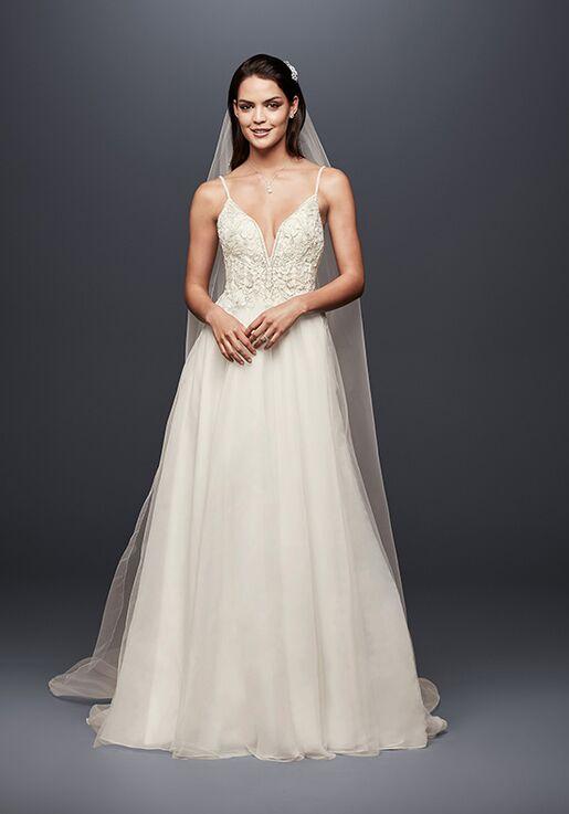 2b95e3c4c4d3 David's Bridal Galina Signature Style SWG784 Wedding Dress | The Knot