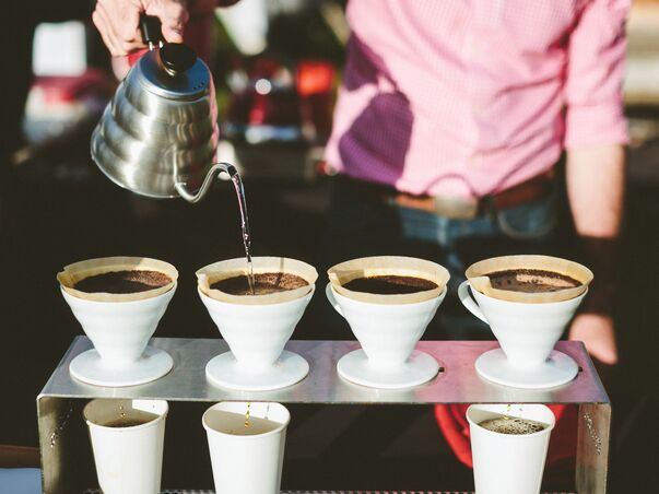 Coffee wedding ideas