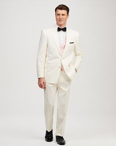 Jos. A. Bank Joseph & Feiss Ivory Two-Button Notch Lapel Tuxedo Ivory Tuxedo