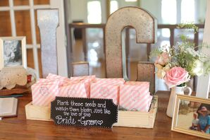 Wildflower-Seed Texas Wedding Favors