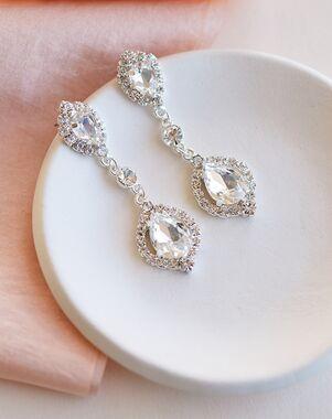 Dareth Colburn Leia Crystal Drop Earrings (JE-4188) Wedding Earring photo