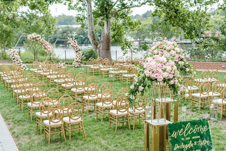Ceremony Space at The River View at Occoquan in Lorton, Virginia