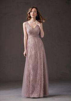 Belsoie Bridesmaids by Jasmine L184066 V-Neck Bridesmaid Dress