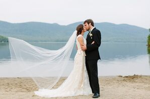 A Rustic, Relaxed Wedding