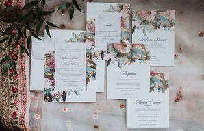 Elegant Floral Invitation Suite